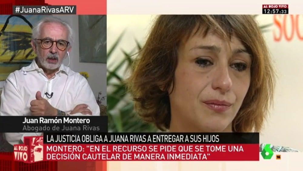 """Juan Ramón Montero, abogado de Juana Rivas: """"Pedimos que se tomen medidas cautelares favorables para los menores"""""""