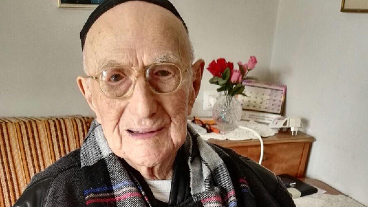 Yisrael Kristal, el hombre más longevo del mundo