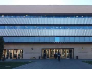 Entrada a la Audiencia Provincial de Castellón