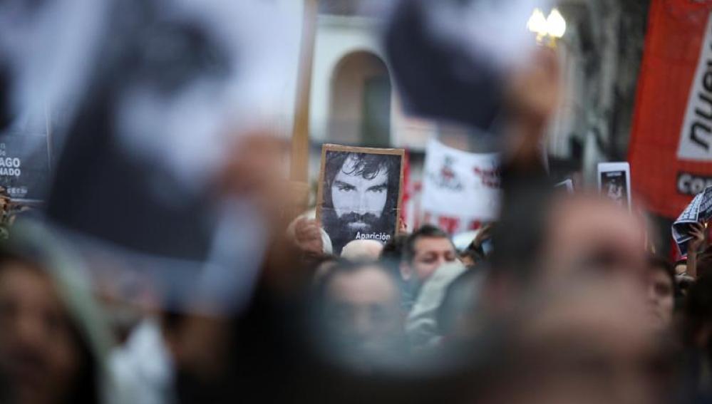 Manifestación por Santiago Maldonado en Argentina