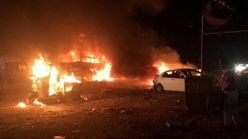 Bomba en Pakistán