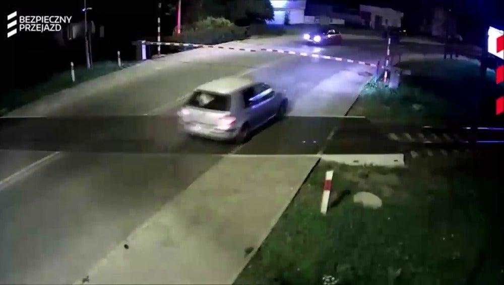 El vehículo antes del accidente