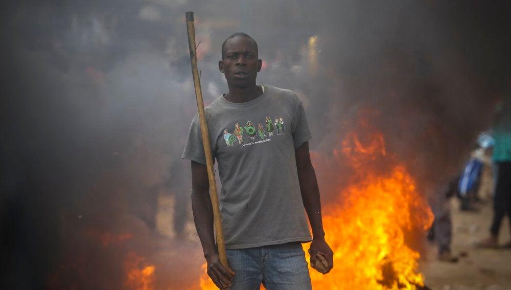 Los kenianos acusan al Gobierno de fraude electoral
