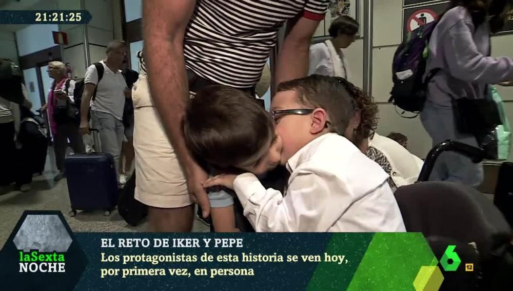 Iker y Pepe se encuentran por primera vez