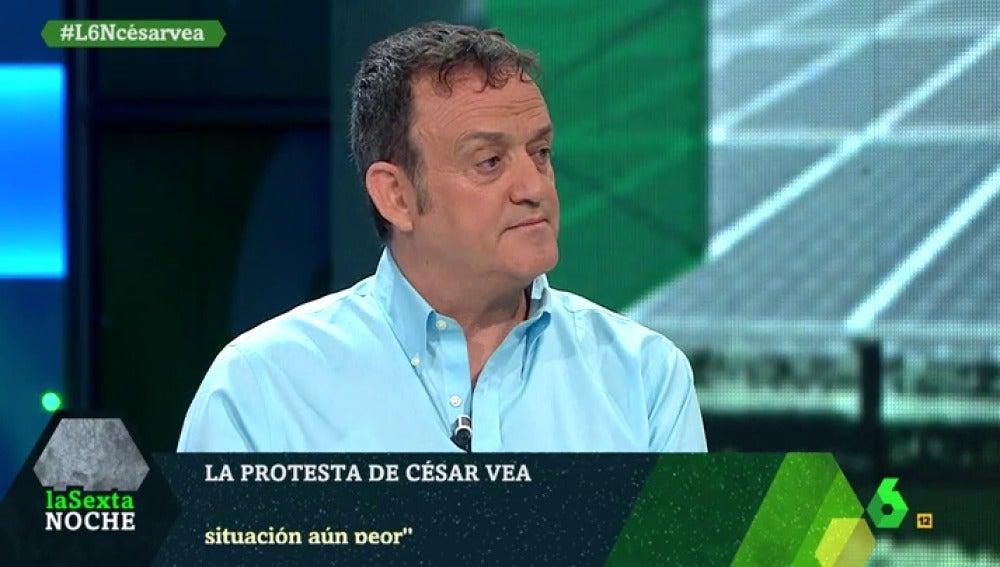 César Vea en laSexta Noche