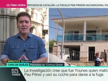 """Carlos Quilez: """"El plan A era una macroexplosión en la Sagrada Familia, el plan B era el atropello masivo"""""""
