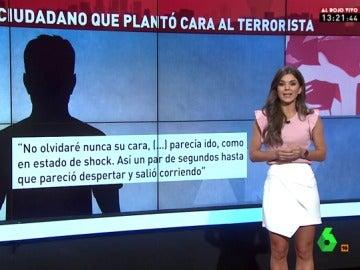 El ciudadano que plantó cara al terrorista de Barcelona