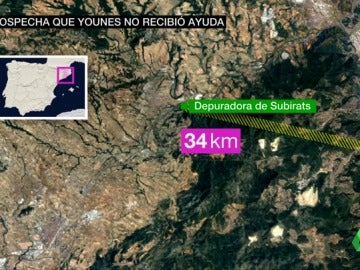 Posible recorrido de Younes Abouyaaqoub en Barcelona