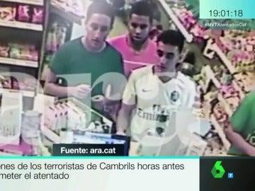 Tres de los terroristas de Cambrils