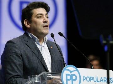 El alcalde de Alcorcón, David Pérez, del Partido Popular