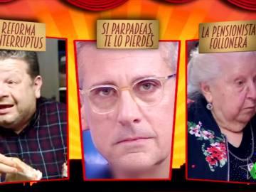 'Reforma interruptus', 'Si parpadeas, de lo pierdes' y Paquita, 'la pensionista follonera'