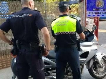 Policía local de Almería