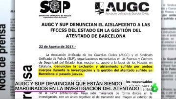Denuncia de la AUGC