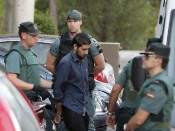 Mohammed Alla, a la entrada en los juzgados