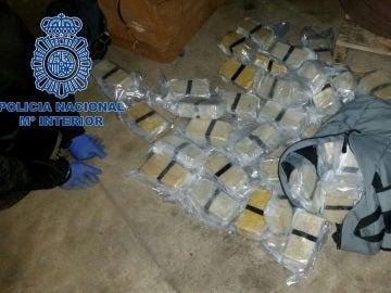 La red desmantelada con 65 kilos de heroína utilizaba vías de distribución gallegas