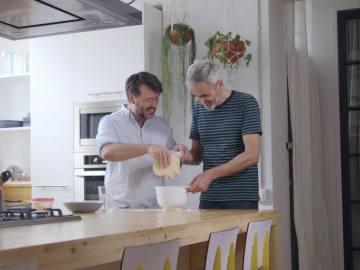 Ibán Yarza y Mikel López Iturriaga
