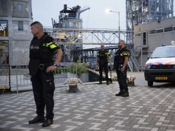 La policía de Rotterdam ha acordonado la zona
