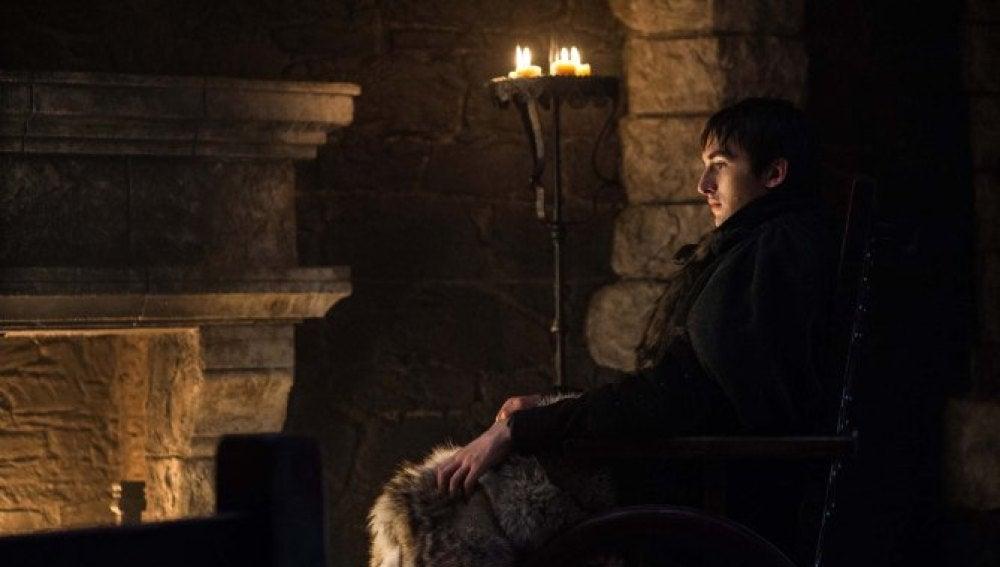 Bran Stark en el final de temporada de Juego de Tronos