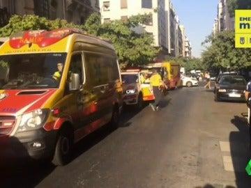 Detenido un hombre tras asestar numerosas puñaladas a su pareja en Madrid