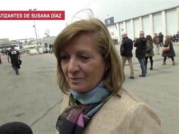 Simpatizante de Susana Díaz