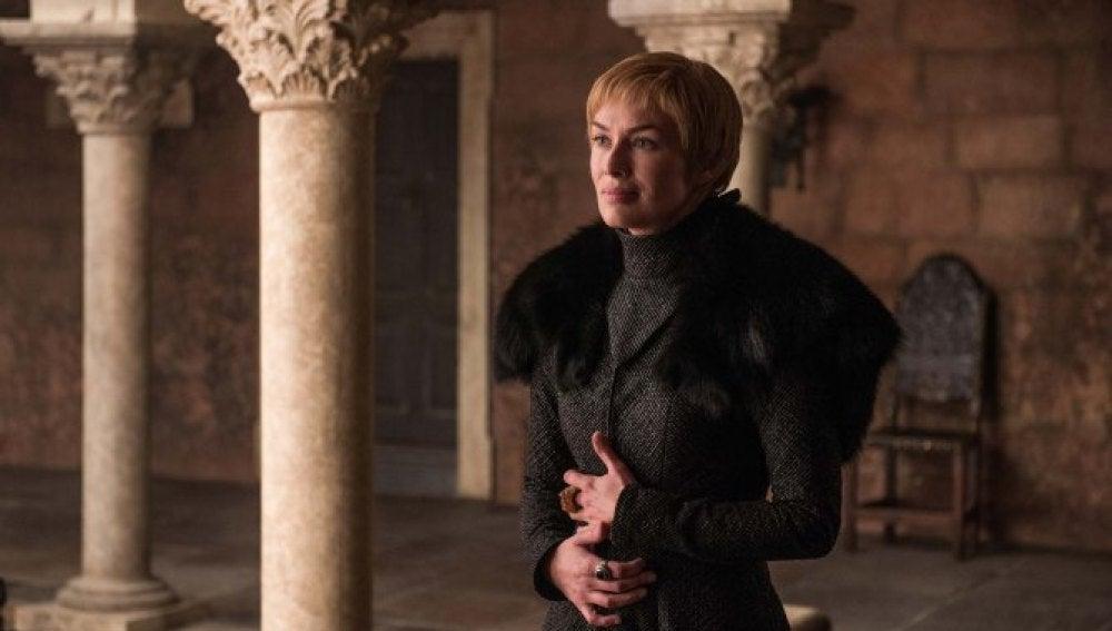 Cersei Lannister en el final de temporada de Juego de Tronos