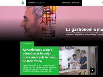 Web de El Comidista