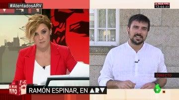 Ramón Espinar, portavoz de Podemos en el Senado
