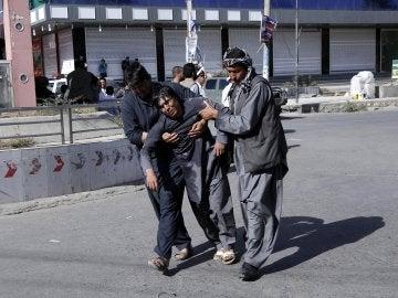 Víctimas del ataque de Daesh en Kabul