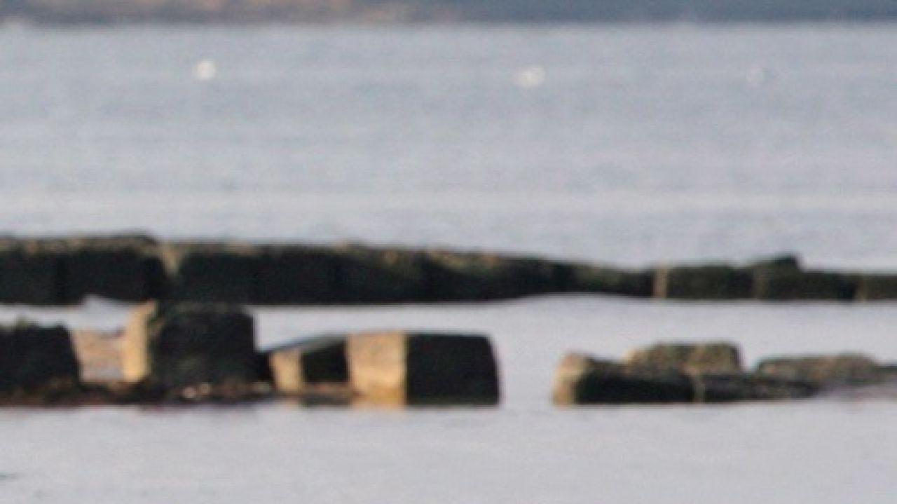 Imagen del estrecho de Kerch en el Mar Negro, donde se ha producido el accidente