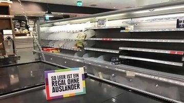 Estanterías del supermercado