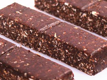 Barritas Proteicas Caseras de Chocolate