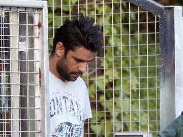 Salah El Karib, uno de los cuatro detenidos por los atentados de Barcelona y Cambrils cuando fue trasladado a la Audiencia Nacional a declarar ante el juez