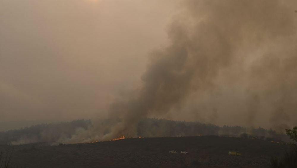 Incendio en Encinedo