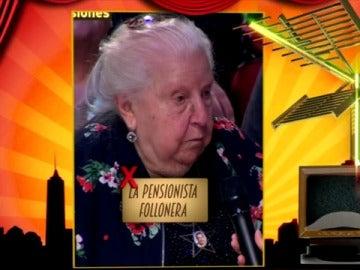 Paquita, la pensionista follonera
