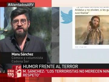 El cómico Manu Sánchez