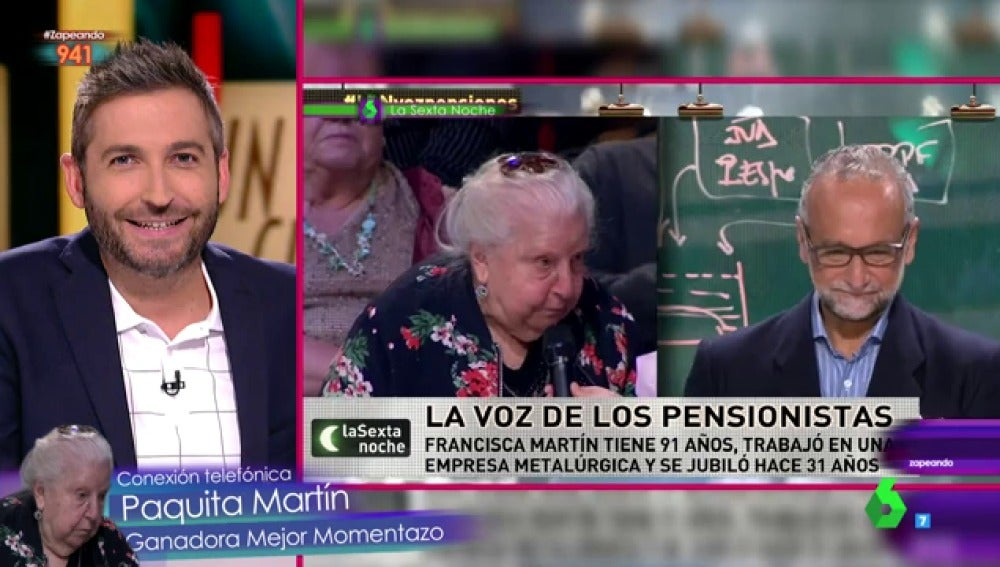 Frank Blanco y Paquita Martín