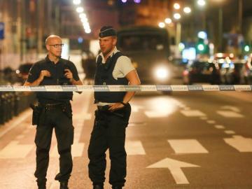 Ataque a dos militares en Bruselas