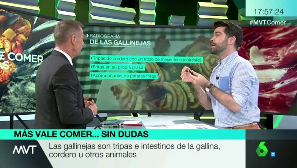 """Luis Alberto Zamora desarrolla las gallinejas, el plato típico madrileño """"humilde"""""""