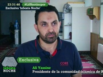 Ali Yassine, el presidente de la comunidad islámica de Ripoll