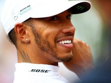 Hamilton en el GP de Bélgica