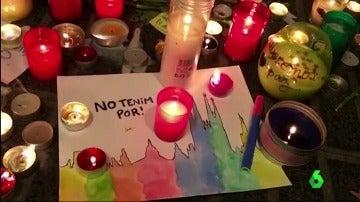 Una imagen en la que se aprecia el lema 'No tenemos miedo'