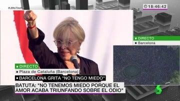 Rosa María Sardà recita emocionada a Josep Maria de Sagarra