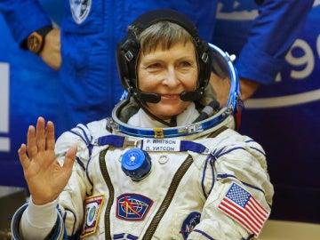 La astronauta Peggy Whitson