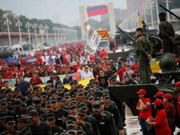 Con seis muertos culmina el primer día de ejercicios militares en Venezuela