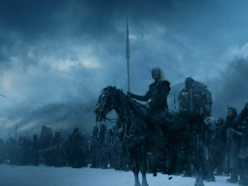 El ejército de Caminantes Blancos, a las puertas de El Muro