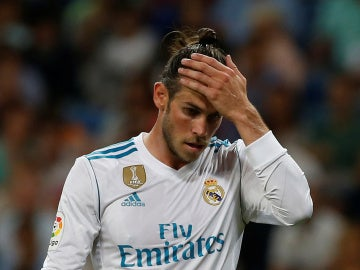 Gareth Bale, contra el Valencia