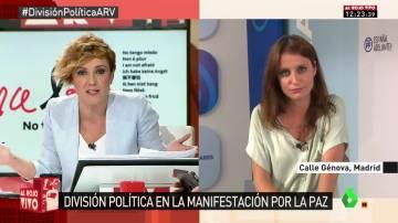 Andrea Levy en Al Rojo Vivo