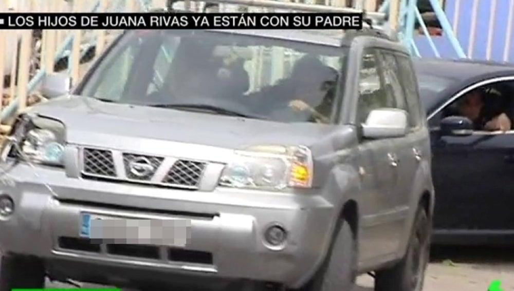 Los hijos de Juana Rivas están ya con su padre