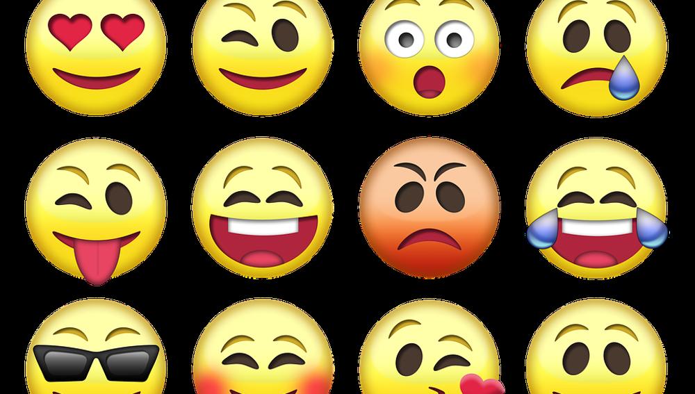 No utilices emoticonos en los asuntos laborales.