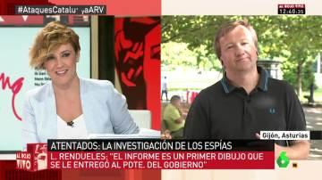 Luis Rendueles en Al Rojo Vivo